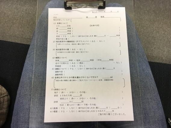 田町アイシークリニック問診