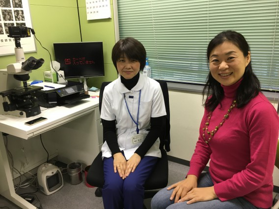 看護師中川さん、