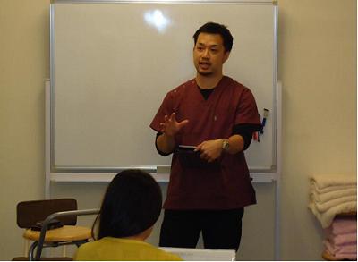KDA代表西田先生